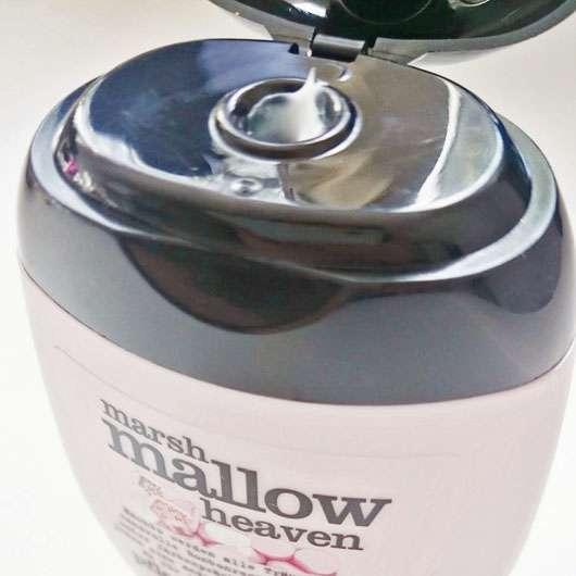 treaclemoon marshmallow heaven pflegendes balsam für gestresste Hände - Öffnung