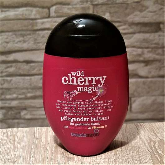 treaclemoon wild cherry magic pflegender balsam für gestresste Hände (LE)