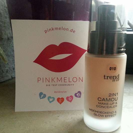 trend IT UP 2in1 Camou Make-up & Concealer, Farbe: 010 - Flakon