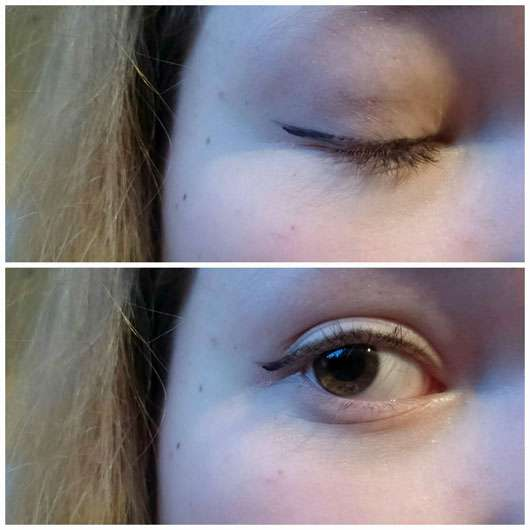trend IT UP XL Ultra Black Eyeliner Waterproof - Collage Augen
