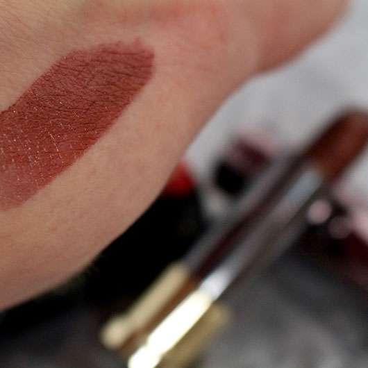 Urban Decay VICE Lipstick, Farbe: Conspiracy (Metallized Finish) - Farbabgabe auf der Hand