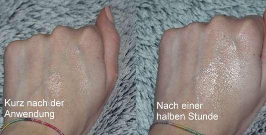 Swatch der Weleda Hautcreme Skin Food