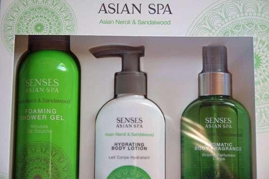 ARTDECO SENSES ASIAN SPA Deep Relaxation Foaming Shower Gel Swatch