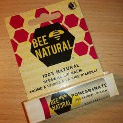 Produktbild zu BEE NATURAL Pomegranate 100% Natural Lip Balm