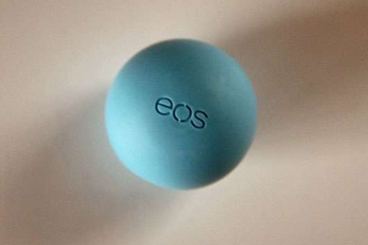 eos Smooth Spheres Organic Lip Balm, Sorte: Blueberry Acai Design