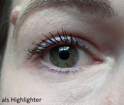 IsaDora Eye Lifter Duo Highlighter (LE) - als Highlighter auf dem Auge
