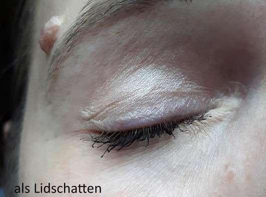IsaDora Eye Lifter Duo Highlighter (LE) - als Lidschatten auf dem Auge