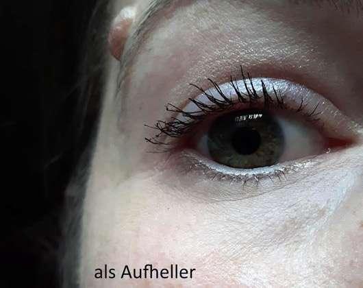 IsaDora Eye Lifter Duo Highlighter (LE) - als Aufheller auf dem Auge
