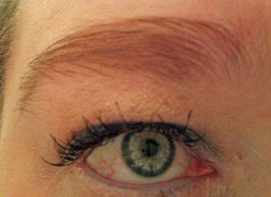 Augenbrauen mit just cosmetics eyebrow duo styling pen, Farbe: 010 medium