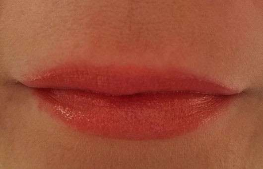 Lippen mit just cosmetics pearl & color lip chubby, Farbe: 030 look-see