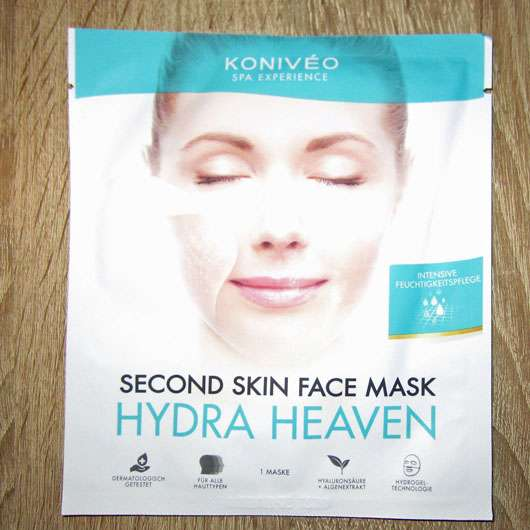KONIVÉO Second Skin Face Mask HYDRA HEAVEN - Sachet