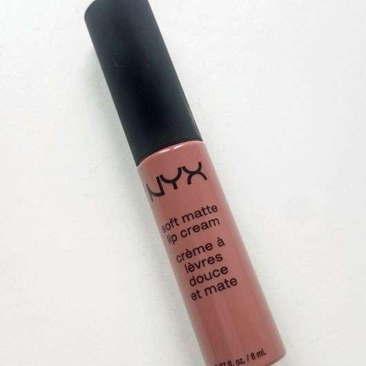 NYX Soft Matte Lip Cream, Farbe: Abu Dhabi