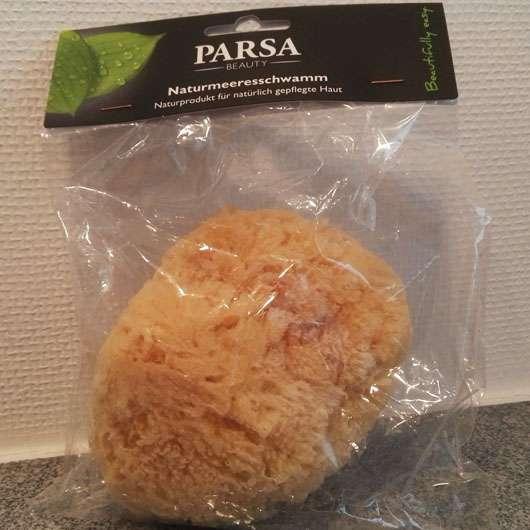 PARSA Beauty Naturmeeresschwamm Verpackung