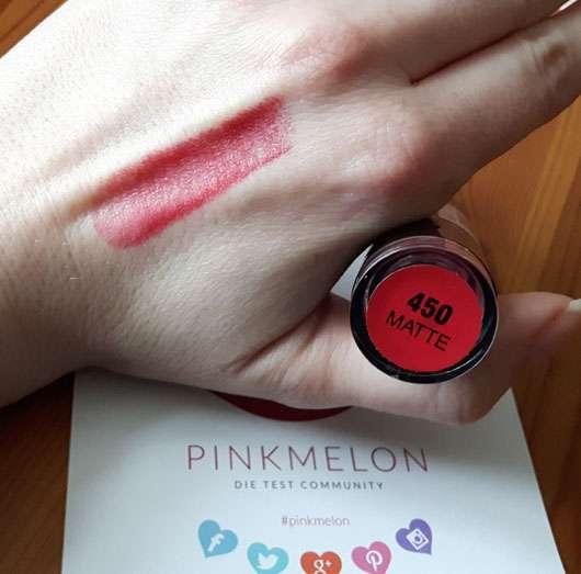 trend IT UP Ultra Matte Lipstick, Farbe: 450 Swatch