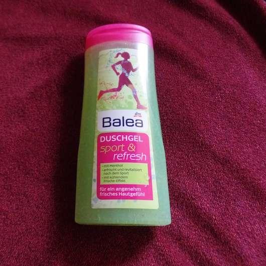 Verpackung vom Balea Duschgel sport & refresh
