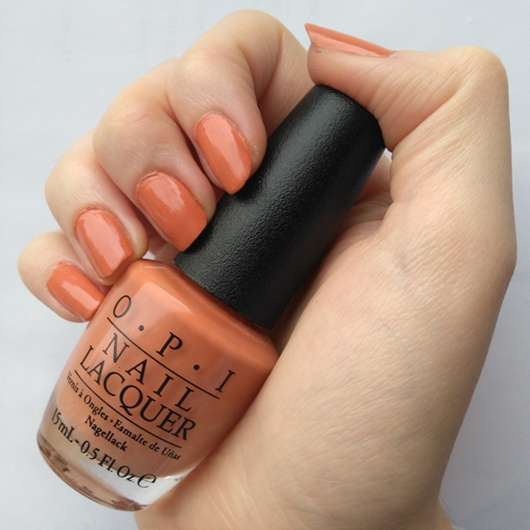 <strong>OPI</strong> Nail Lacquer - Farbe: Freedom of Peach (LE)