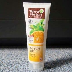 Produktbild zu Terra Naturi Naturkosmetik Duschgel Orange Minze