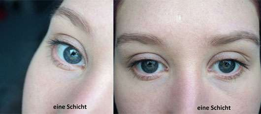 Terra Naturi Extreme Black Mascara - Augen mit einer Schicht Mascara