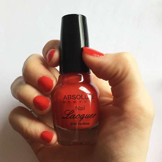 <strong>ABSOLUTE NEW YORK</strong> Nail Lacquer - Farbe: True Red