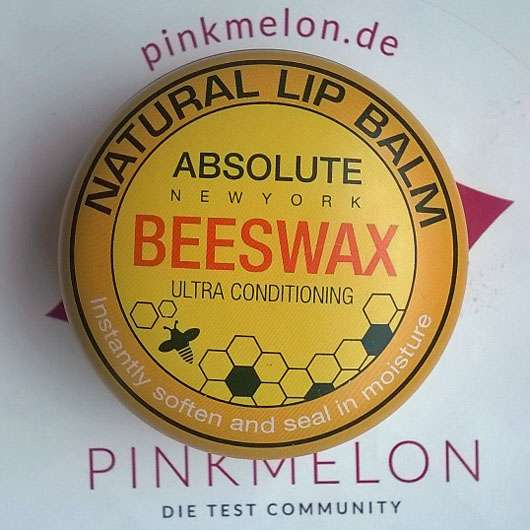 """ABSOLUTE NEW YORK Natural Lip Balm """"Beeswax"""" - Dose"""