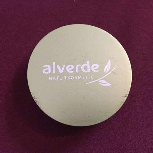 alverde Kompakt Make-up, Farbe: 020 honig-gold Verpackung