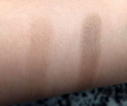 Artdeco Eyeshadow, Farbe: 520 Matt Light Grey Mocha - Swatch