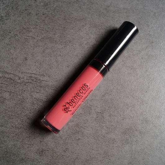 <strong>benecos</strong> Natural Lipgloss - Farbe: Flamingo