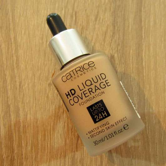 Catrice HD Liquid Coverage Foundation, Farbe: 020 Rose Beige - Flasche