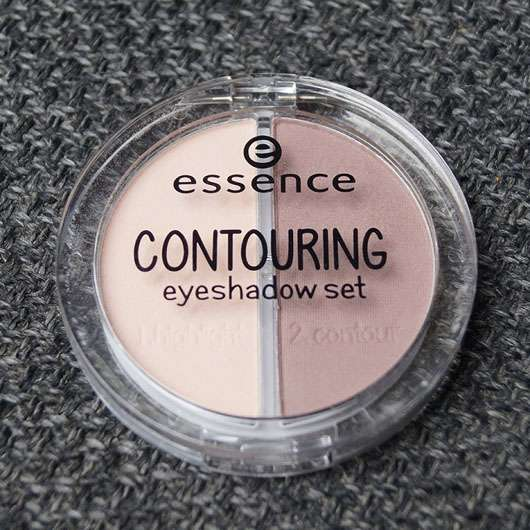 essence contouring eyeshadow set, Farbe: 01 mauve meets marshmallows Verpackung