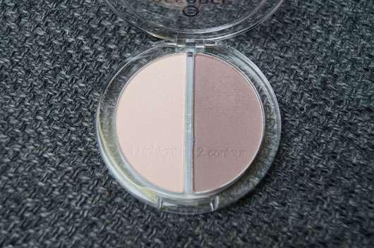 essence contouring eyeshadow set, Farbe: 01 mauve meets marshmallows Nuancen