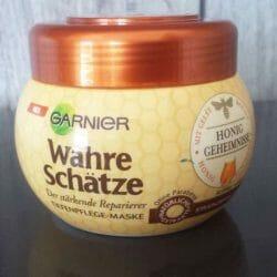 Produktbild zu Garnier Wahre Schätze Der stärkende Reparierer Tiefenpflege-Maske Honig-Geheimnisse