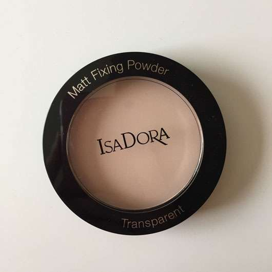 IsaDora Matt Fixing Blotting Powder, Farbe: 03 Sheer Nude Design