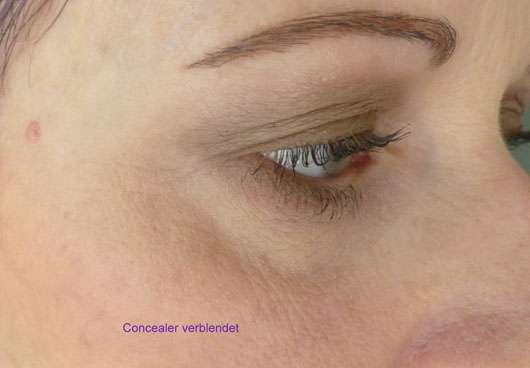 just cosmetics expert 16h puffy eyes concealer, Farbe: 010 light verblendet