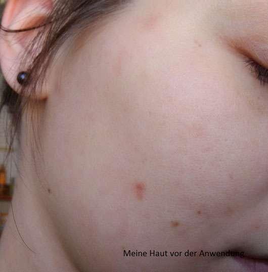 KONIVÉO Second Skin Face Mask HYDRA HEAVEN vor der Anwendung
