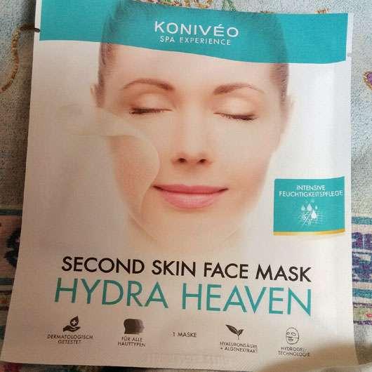 KONIVÉO Second Skin Face Mask HYDRA HEAVEN Verpackung