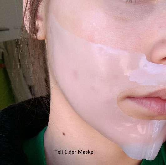 KONIVÉO Second Skin Face Mask HYDRA HEAVEN Anwendung