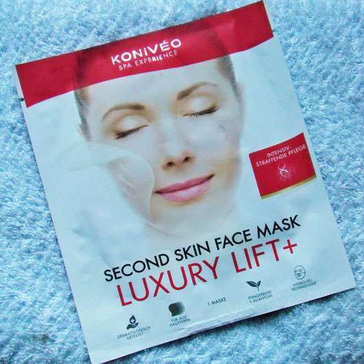 KONIVÉO Second Skin Face Mask LUXURY LIFT+ Sachet
