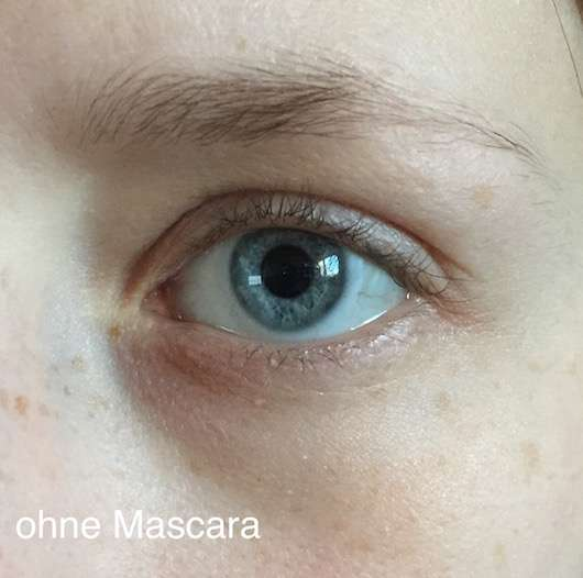 Wimpern ohne die lavera Butterfly Effect Mascara, Farbe: Beautiful Black