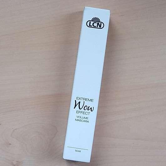LCN Extreme WOW Effect Volume Mascara, Farbe: Schwarz - Verpackung