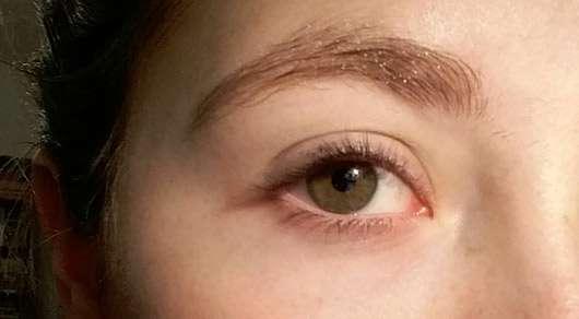 LCN Extreme WOW Effect Volume Mascara, Farbe: Schwarz - ungeschminkte Wimpern