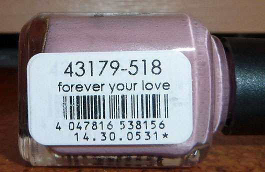 LCN Nail Polish, Farbe: forever your love (LE) - Farbbezeichnung