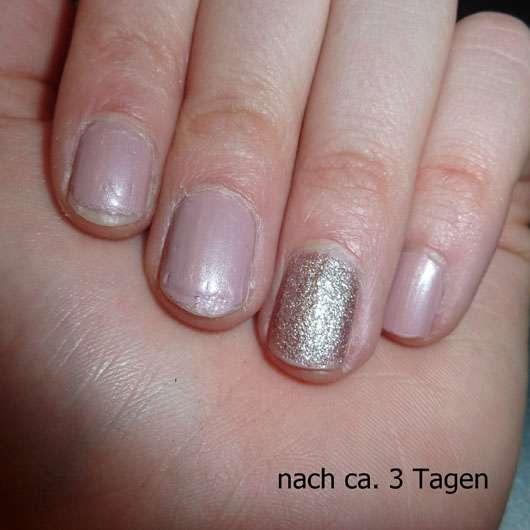 LCN Nail Polish, Farbe: forever your love (LE) - auf den Nägeln nach 3 Tagen