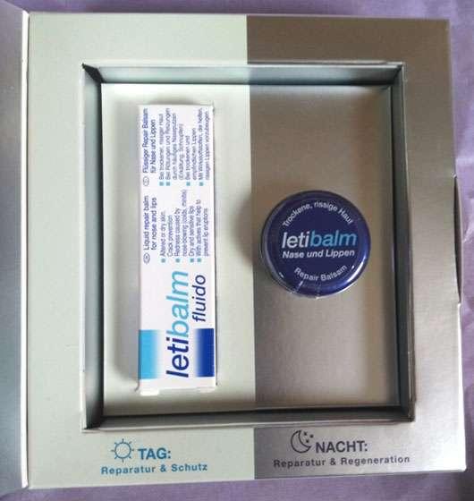 LETI letibalm Double Repair Lippenpflege Verpackung