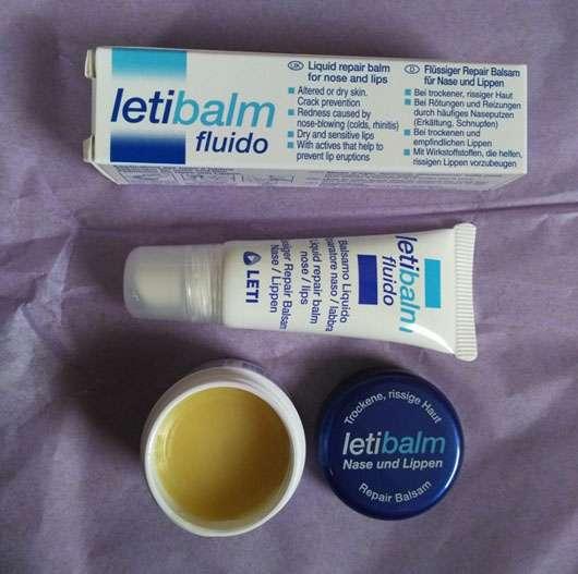 LETI letibalm Double Repair Lippenpflege Produkte