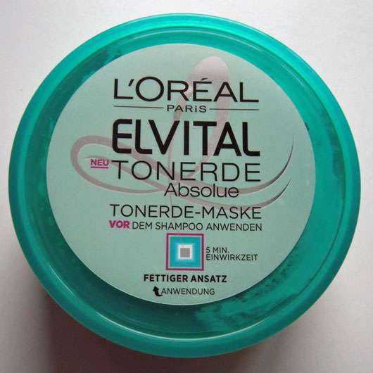 L'Oréal Paris Elvital Tonerde Absolue Tonerde-Maske Tiegel