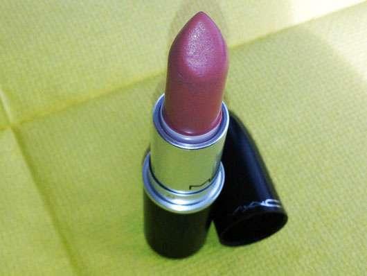 M·A·C Lipstick, Farbe: Velvet Teddy - geöffnet