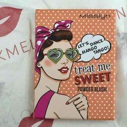Produktbild zu Misslyn Treat Me Sweet Powder Blush – Farbe: 38 let's dance mango tango! (LE)