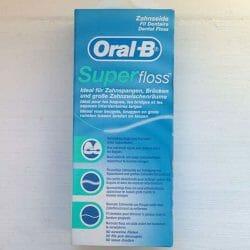 Produktbild zu Oral-B Superfloss Zahnseide