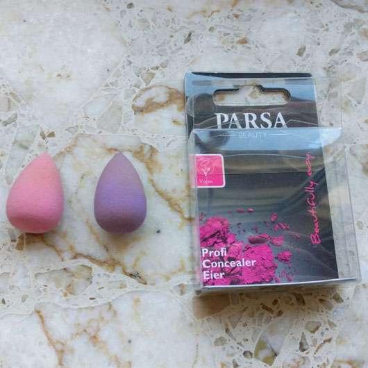 PARSA Beauty Profi Concealer Eier Produkt und Verpackung