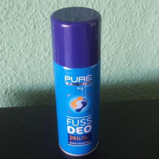<strong>Pure & Basic</strong> Fußdeo